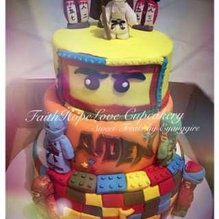 Ninjago Themed Cake