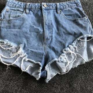 'A brand' shorts