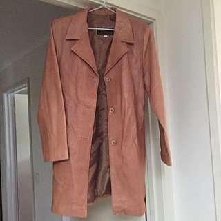 Genuine Lamb Leather Jacket Sz S Siricco
