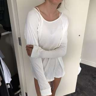 Cream/ white coloured top