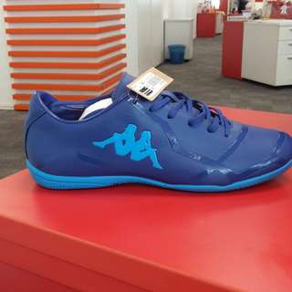 KAPPA Futsal Shoes Blue Navy Size 43EURO/ 10US/ 9UK