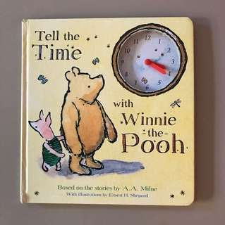 Tell time with Winnie the Pooh