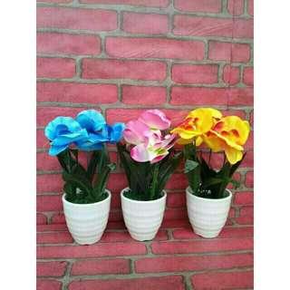 Bouquet bunga swing