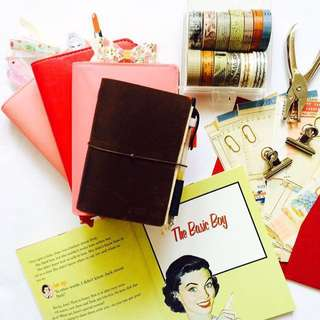 Brown Passport Travelers Notebook