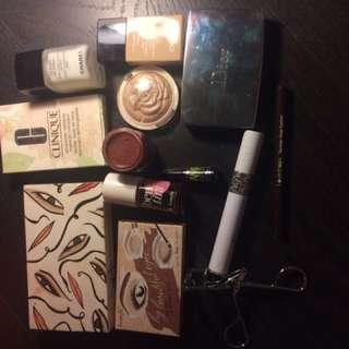 Moving sale! Makeup set  dior, mac, chanel,benefits...