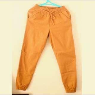 Jogger pants celana jogger Mocca