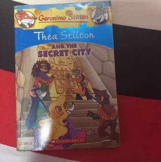 Gerinomo Stilton: Thea Stilton and the Secret City