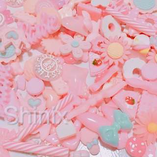 Kawaii Charms Cute Decoden DIY Craft Slime Supplies Supply