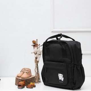 Oruru Diaper Bag - Black1