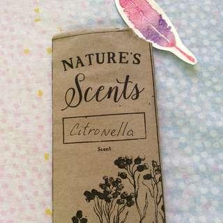 Nature scents: citronella