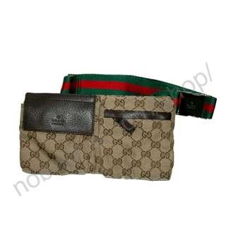 GUCCI - Monogram Shoulder Bag 意大利名牌肩袋