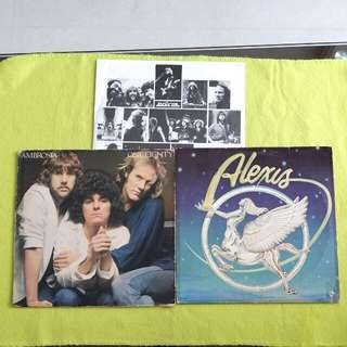 2LP.AMBROSIA/ALEXIS. one eighty/ alexis. ( 2 Lp for the price of 1 ) Vinyl record