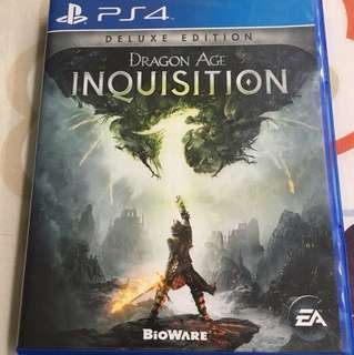 Dragon Age Inquisition PS4 Game