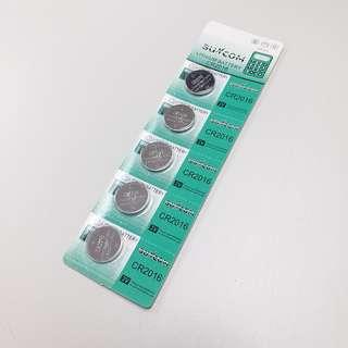 新光鈕扣電(5粒)CR2016 (包本地平郵)
