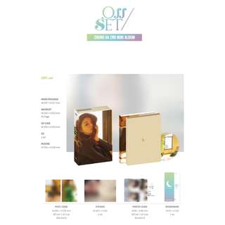 [PREORDER] CHUNGHA (청하) - Offset _ 2nd Mini Album