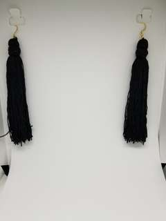 Long elegant tassel earrings