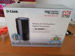 BN D-Link Wireless AC1750 Dual Band Gigabit Cloud Router