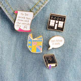 [Pre-order] Cute pin collection.