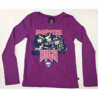 Monster High Long Sleeve Tee