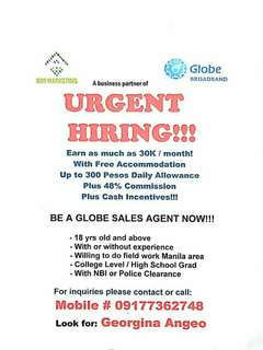 Field Sales Agents