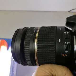 Tamron 17-50mm f2.8 VC SP For Nikon