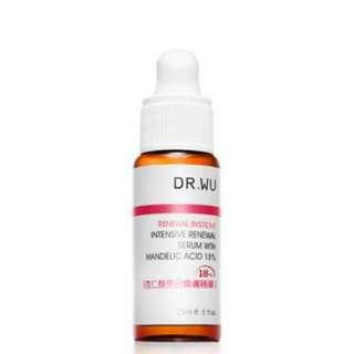 BNIB DR WU MA INTENSIVE RENEWAL SERUM 18% MANDELIC ACID