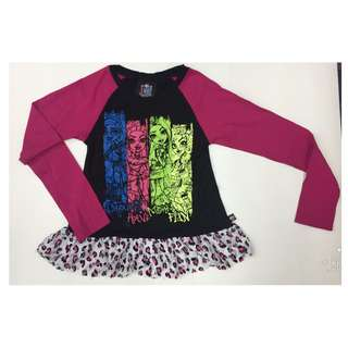 Lace Leopard Print Monster High