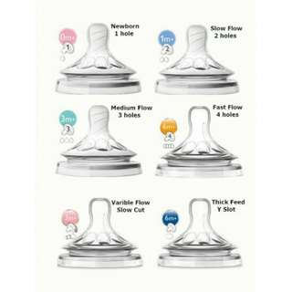 Philips Avent Natural Teat 2.0 (EXTRA SOFT) -4PCS/2Packs