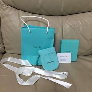 Tiffany dust bag and box