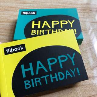 Happy birthday flipbook
