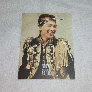 Bigbang Photocard Official