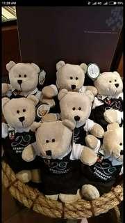 Limited Edition Starbucks Philippines' 20th Anniversary Bearista Bears