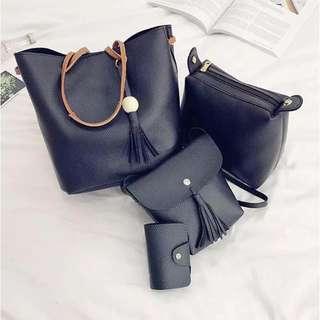 Tassel Korean Bag Set (4in1)