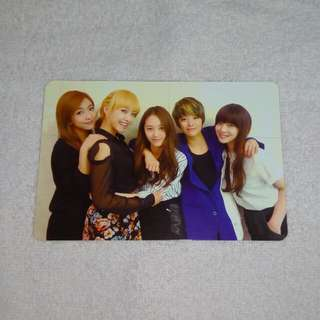 F(x) Photocard Official