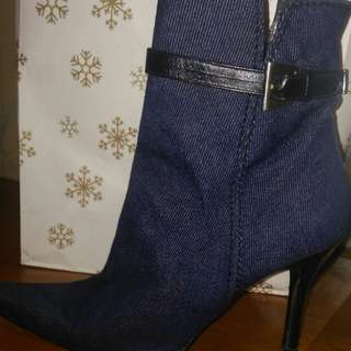 Limited edition Ankle Boots denim
