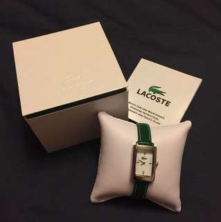 Lacoste Ladies Watch in Green