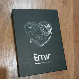 VIXX Error 2nd Mini Album (pending!!)