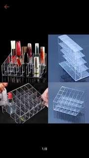 24 slot Clear Lipstick Organizer/Holder