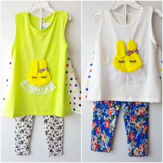 Girl tee & leggings
