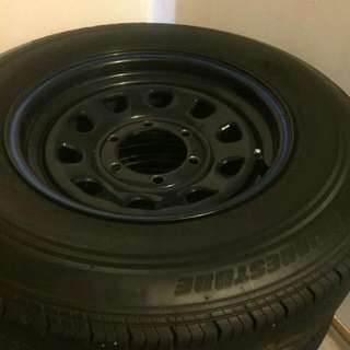 Toyota Hiace Rims And Tyres