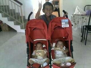 Stroller twin