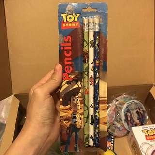 Toy story 反斗奇兵 迪士尼 彼斯 Disney Pixar 鉛筆 巴斯光年 胡迪 三眼仔 woody buzz