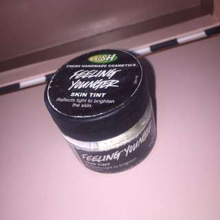 Lush highlighter skin tint