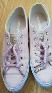 Authentic Converse All Star Low leather limited edition #rare #steal