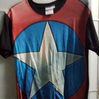 Captain america tee shirt