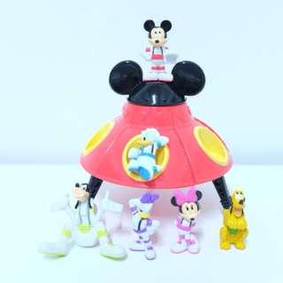 迪士尼 米奇 太空船