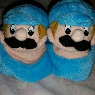 Mario bross kaos kaki bayi