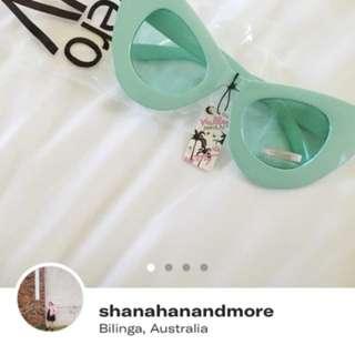Zero uv oversized cat eye sunglasses