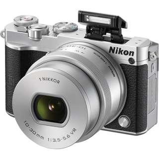 (NEW) NIKON J5 WIFI MIRRORLESS CAMERA + 10-30MM VR LENS