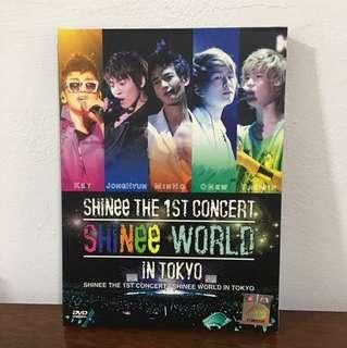 SHINee 1st Concert in Tokyo DVD